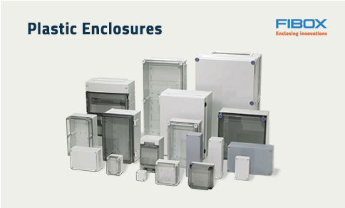 Image of Fibox plastic enclosures