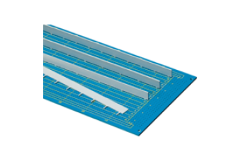 PCB Busbar for Power Distribution, 3 HP L342.3mm