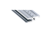 Horizontal Rail, Front, Type L-KD, Light, Short Lip, 84 HP