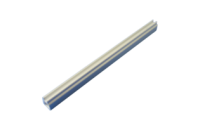 Guide Rail Multi Piece, Mid-Piece, Aluminum Extrusion, 2 mm, 220 mm Board Length