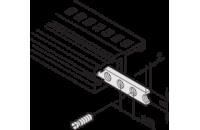 Horizontal Rails Threaded Insert, M2.5, 28 HP