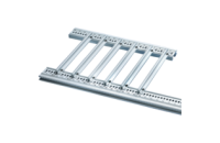 Guide Rail Accessories for Heavy PCBs, Extra Strong, Aluminium, 2.5 mm, 160 mm