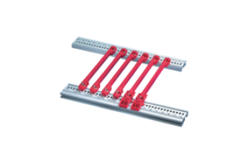 Guide Rail Accessory Type, 2 mm, 160 mm, Red