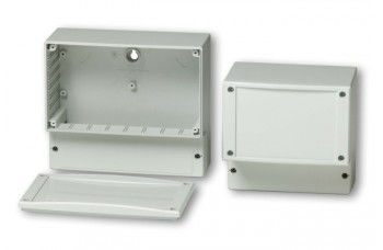 Cardmaster Enclosures with Closed PC frame front plate with PUR gasket