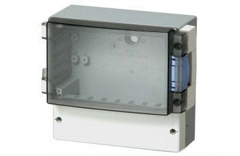 Cardmaster Enclosures with smoked transparent cover