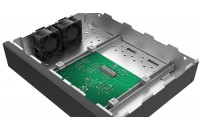 "Mounting Plate With Built-In Fan: 44 (H) x 19"" x 221 (D) mm"